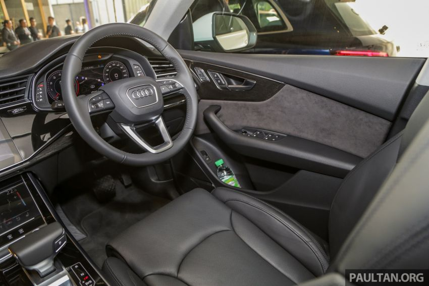 Audi Q8 3.0 TFSI quattro now in M'sia, from RM728k Image #929007
