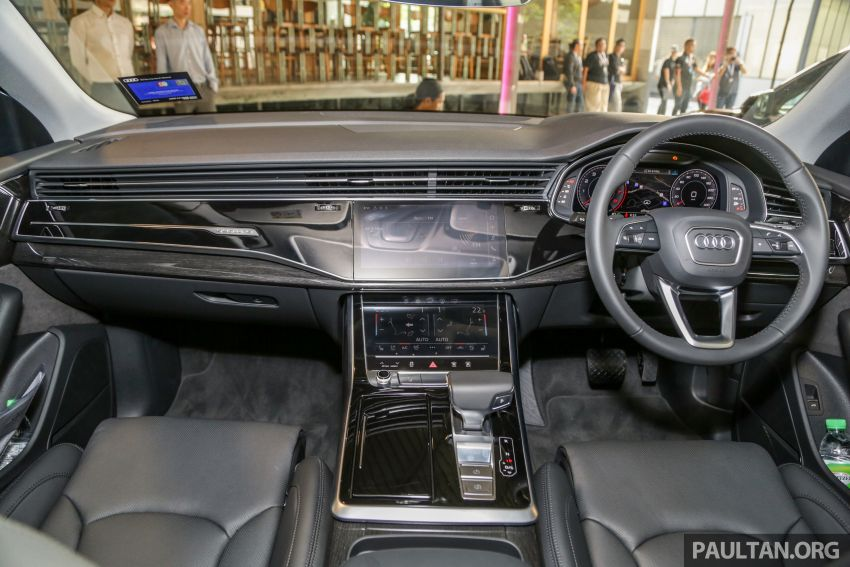 Audi Q8 3.0 TFSI quattro now in M'sia, from RM728k Image #928962