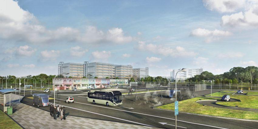 Volvo unveils autonomous bus for testing in Singapore Image #934559