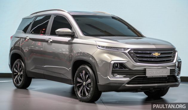Chevrolet Plans 3 New Suvs For Thailand Captiva First