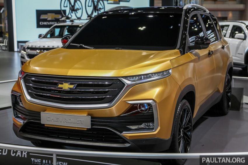 Bangkok 2019: New Chevrolet Captiva is a rebadged Baojun 530, Wuling Almaz – below 1m baht, 5/7 seats Image #939097