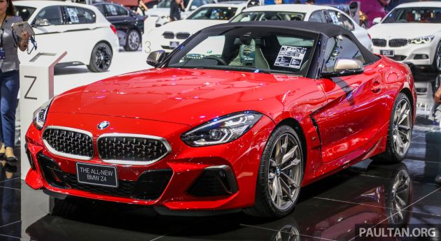 Bangkok 2019 G29 Bmw Z4 Launched From Rm510k