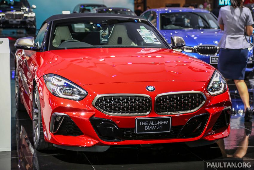 Bangkok 2019: G29 BMW Z4 launched, from RM510k Image #939724