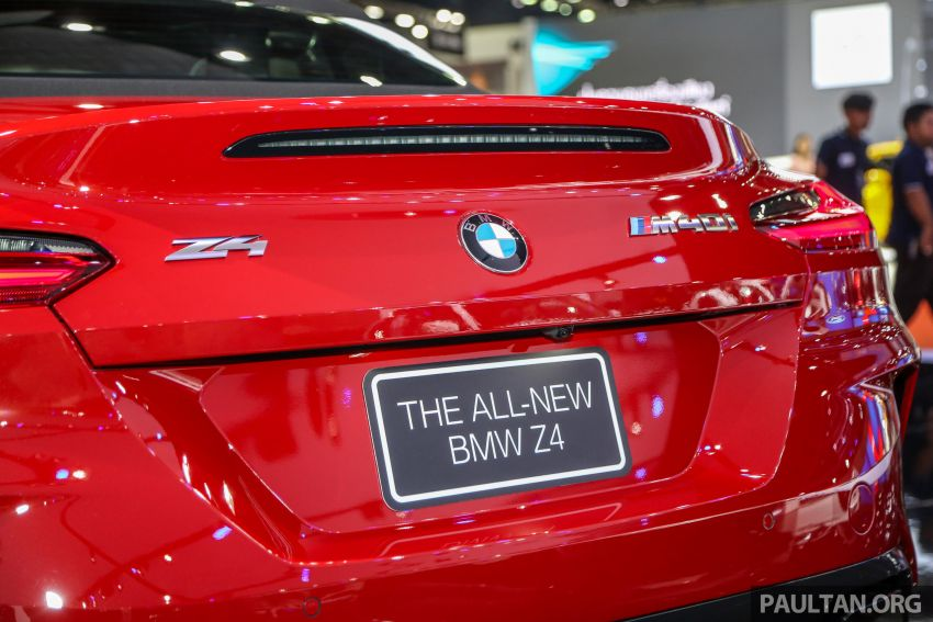 Bangkok 2019: G29 BMW Z4 launched, from RM510k Image #939747