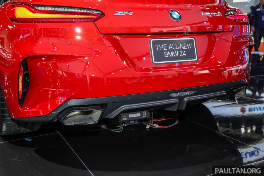 Bangkok 2019: G29 BMW Z4 launched, from RM510k Image #939748