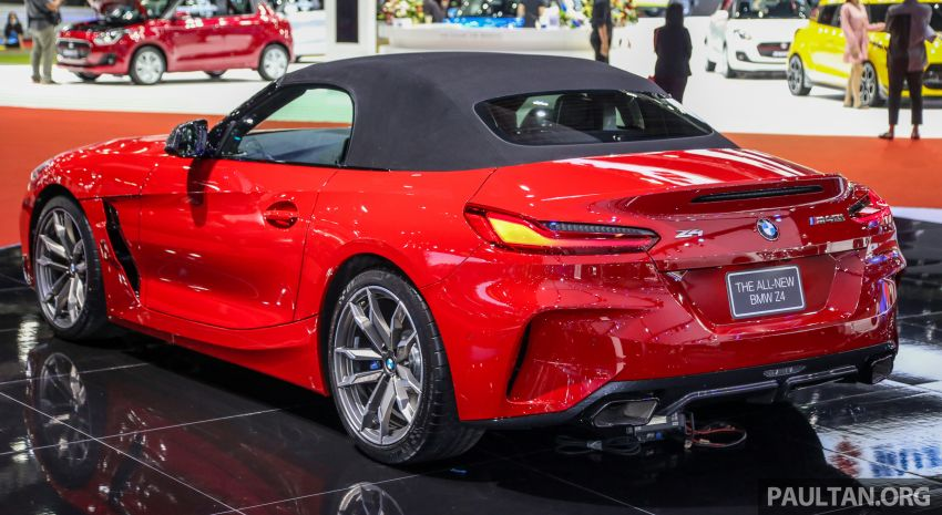 Bangkok 2019: G29 BMW Z4 launched, from RM510k Image #939725