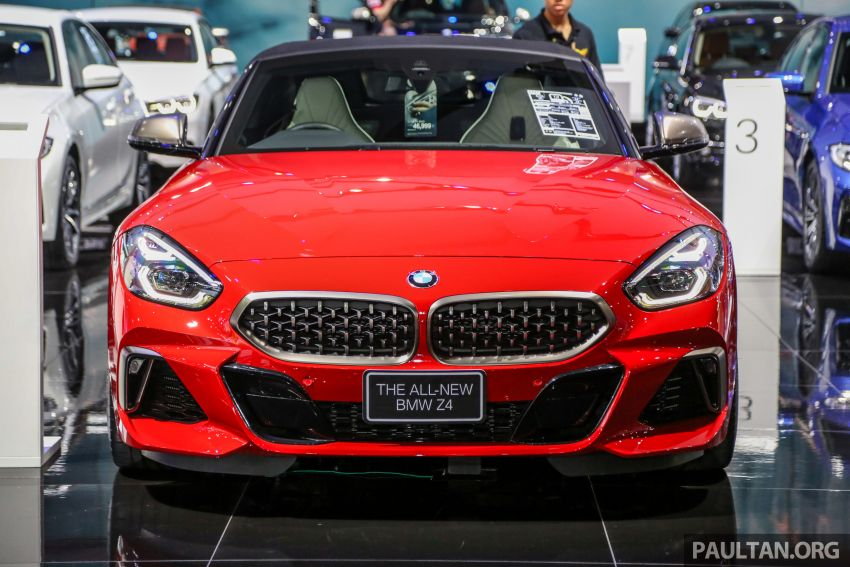 Bangkok 2019: G29 BMW Z4 launched, from RM510k Image #939727