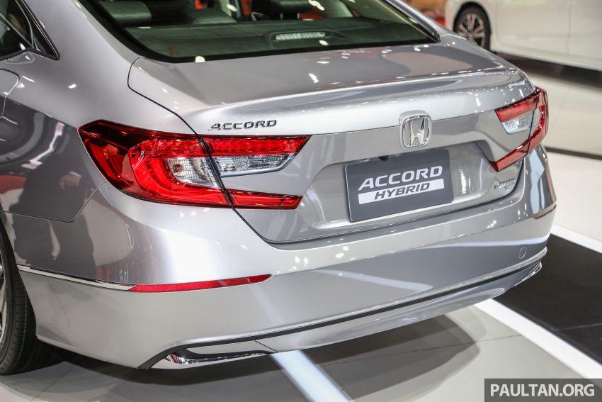 Bangkok 2019: New Honda Accord 1.5L Turbo, Hybrid Image #938690