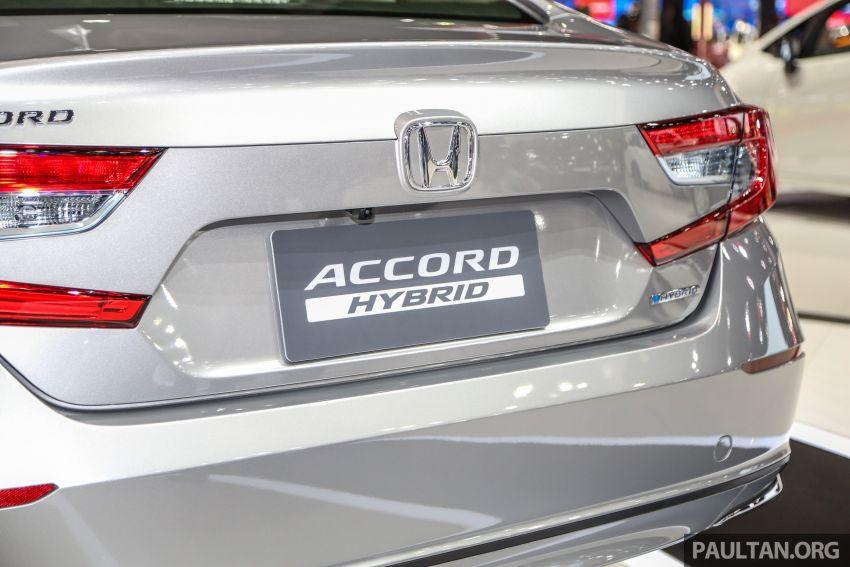Bangkok 2019: New Honda Accord 1.5L Turbo, Hybrid Image #938694