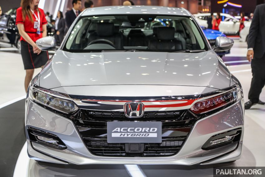 Bangkok 2019: New Honda Accord 1.5L Turbo, Hybrid Image #938676