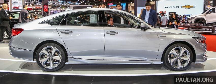 Bangkok 2019: New Honda Accord 1.5L Turbo, Hybrid Image #938677