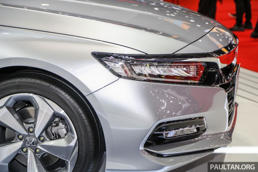 Bangkok 2019: New Honda Accord 1.5L Turbo, Hybrid Image #938680