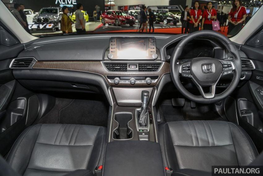 Bangkok 2019: New Honda Accord 1.5L Turbo, Hybrid Image #938699