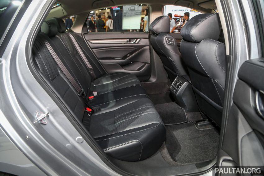 Bangkok 2019: New Honda Accord 1.5L Turbo, Hybrid Image #938721