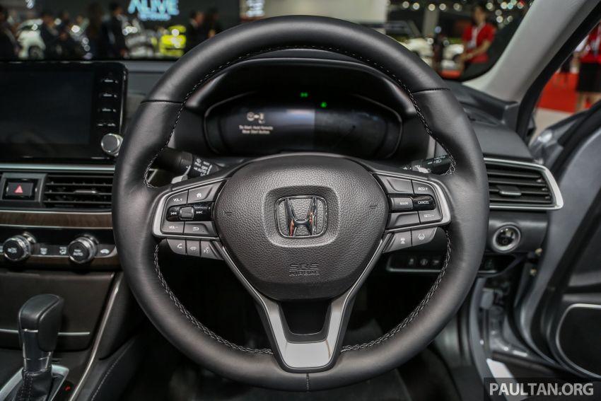 Bangkok 2019: New Honda Accord 1.5L Turbo, Hybrid Image #938700