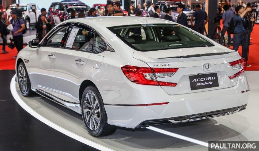 Bangkok 2019: Honda Accord Modulo, a subtle bodykit Image #939003