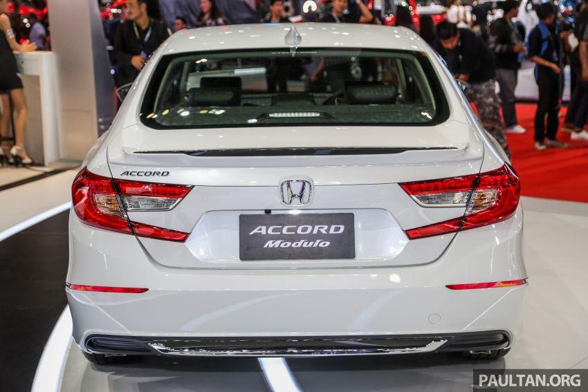 Bangkok 2019: Honda Accord Modulo, a subtle bodykit Image #939005