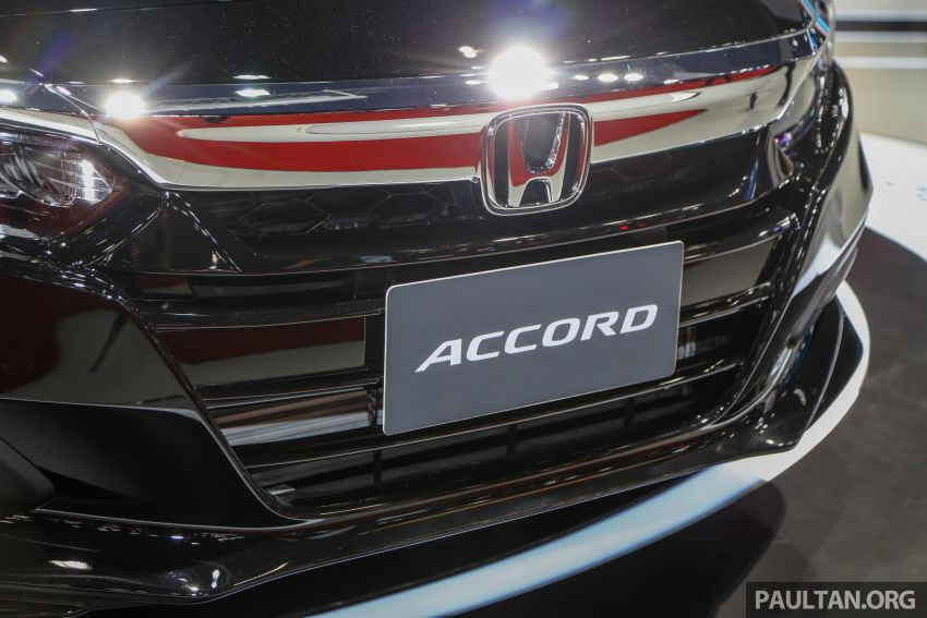 Bangkok 2019: New Honda Accord 1.5L Turbo, Hybrid Image #938630