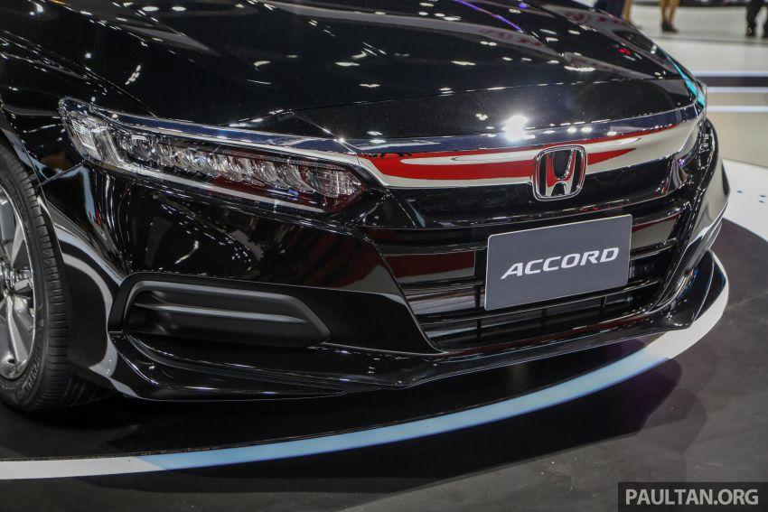 Bangkok 2019: New Honda Accord 1.5L Turbo, Hybrid Image #938626