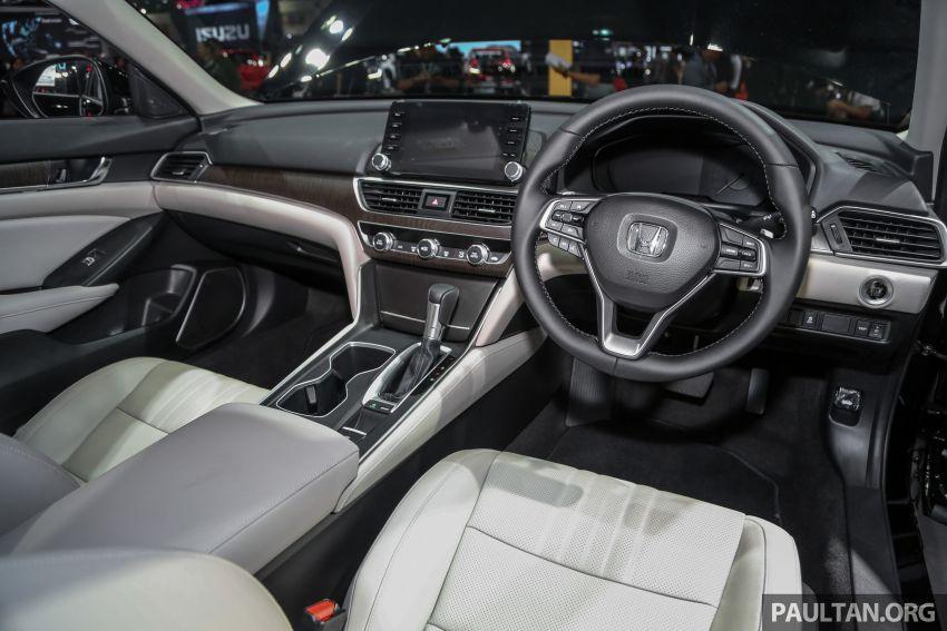 Bangkok 2019: New Honda Accord 1.5L Turbo, Hybrid Image #938655