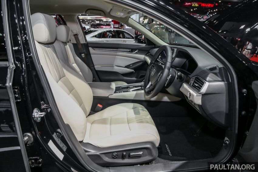Bangkok 2019: New Honda Accord 1.5L Turbo, Hybrid Image #938660