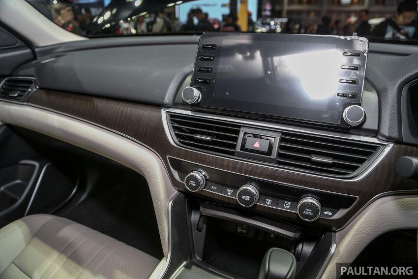 Bangkok 2019: New Honda Accord 1.5L Turbo, Hybrid Image #938648