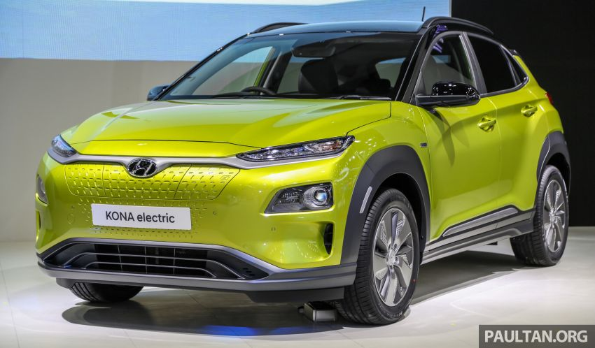 Bangkok 2019: Hyundai Kona Electric launched in Thailand – 39.2 or 64 kWh battery, from RM237k Image #940494