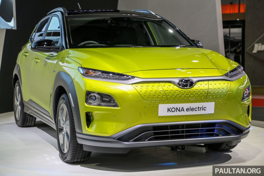 Bangkok 2019: Hyundai Kona Electric launched in Thailand – 39.2 or 64 kWh battery, from RM237k Image #940495