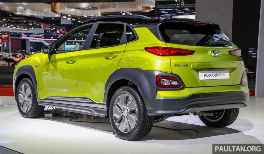 Bangkok 2019: Hyundai Kona Electric launched in Thailand – 39.2 or 64 kWh battery, from RM237k Image #940496