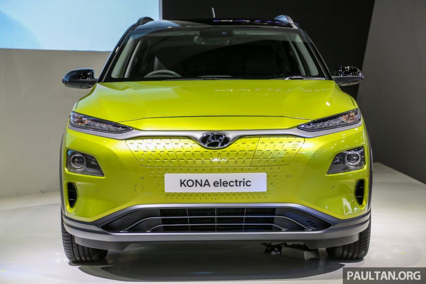 Bangkok 2019: Hyundai Kona Electric launched in Thailand – 39.2 or 64 kWh battery, from RM237k Image #940497