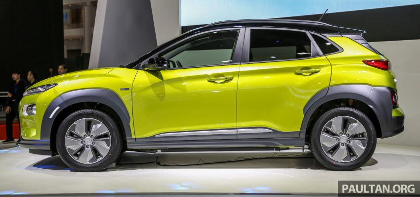 Bangkok 2019: Hyundai Kona Electric launched in Thailand – 39.2 or 64 kWh battery, from RM237k Image #940498