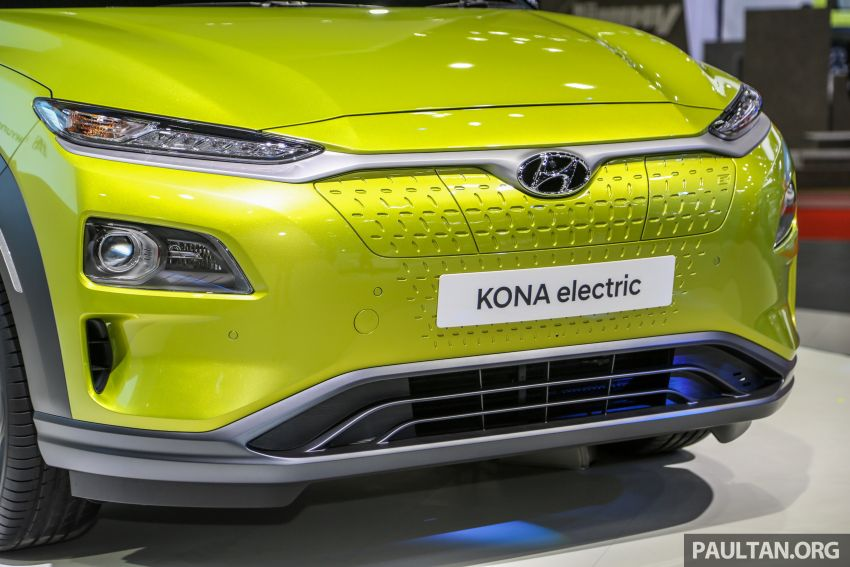 Bangkok 2019: Hyundai Kona Electric launched in Thailand – 39.2 or 64 kWh battery, from RM237k Image #940499