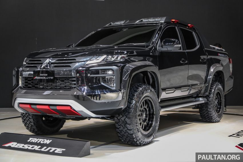 Bangkok 2019: Mitsubishi Triton Absolute, CF bad boy Image #939106