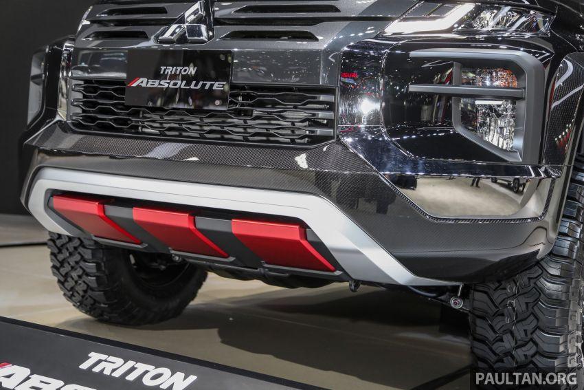 Bangkok 2019: Mitsubishi Triton Absolute, CF bad boy Image #939113