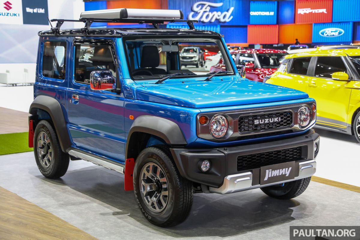 bangkok 2019 suzuki jimny launched from rm199k. Black Bedroom Furniture Sets. Home Design Ideas