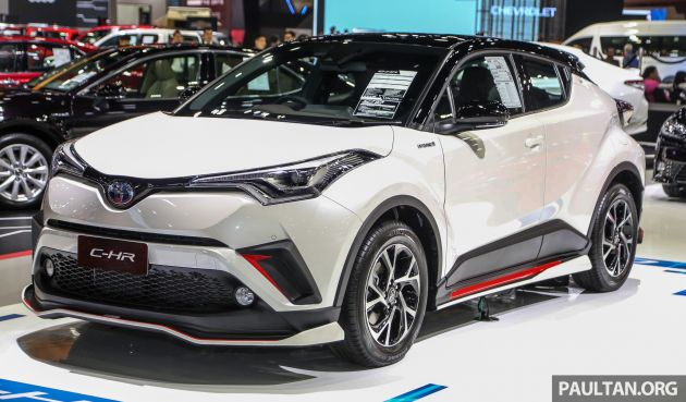 2019 Toyota C-HR: Design, Specs, Price >> Bangkok 2019 Toyota C Hr Gt Bodykit Introduced
