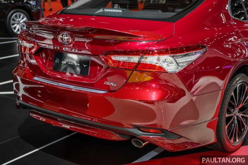 Bangkok 2019: Toyota Camry TRD Sportivo w bodykit Image #938921