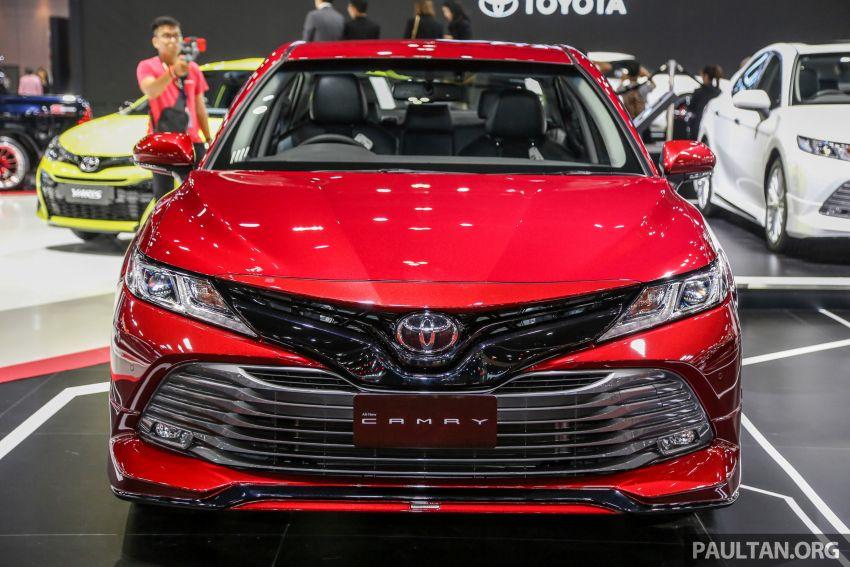 Bangkok 2019: Toyota Camry TRD Sportivo w bodykit Image #938912