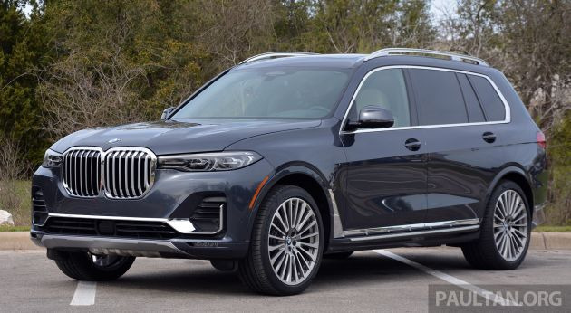 BMW X7 launching soon in Thailand - M50d, RM1 16m
