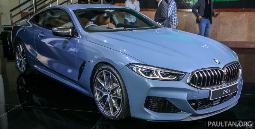 G15 BMW 8 Series launched in Malaysia – sole M850i xDrive variant; 530 PS 4.4L twin-turbo V8; RM1,088,800 Image #933576
