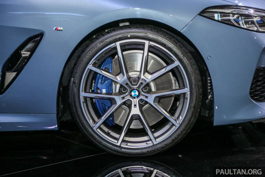 G15 BMW 8 Series launched in Malaysia – sole M850i xDrive variant; 530 PS 4.4L twin-turbo V8; RM1,088,800 Image #933586