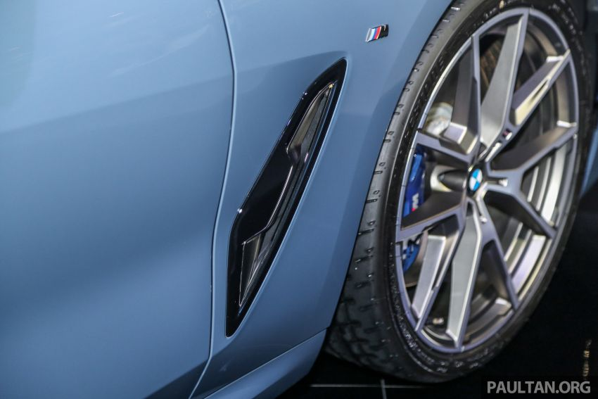 G15 BMW 8 Series launched in Malaysia – sole M850i xDrive variant; 530 PS 4.4L twin-turbo V8; RM1,088,800 Image #933587