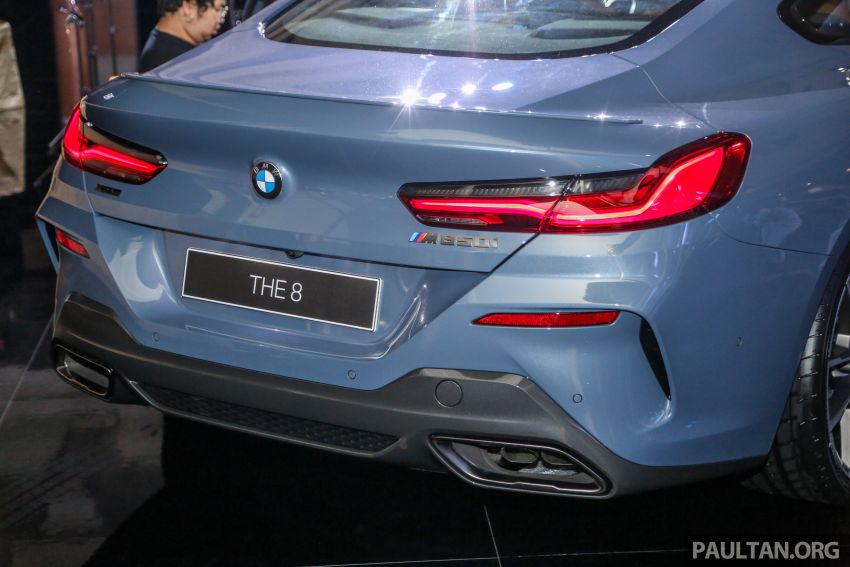 G15 BMW 8 Series launched in Malaysia – sole M850i xDrive variant; 530 PS 4.4L twin-turbo V8; RM1,088,800 Image #933594