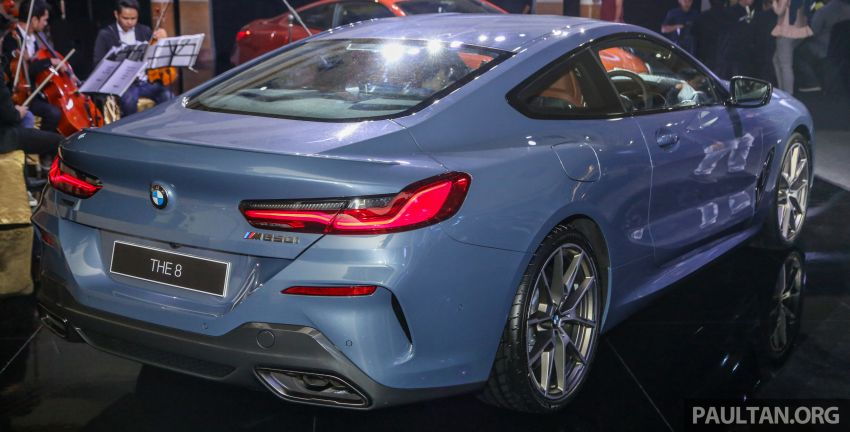 G15 BMW 8 Series launched in Malaysia – sole M850i xDrive variant; 530 PS 4.4L twin-turbo V8; RM1,088,800 Image #933577
