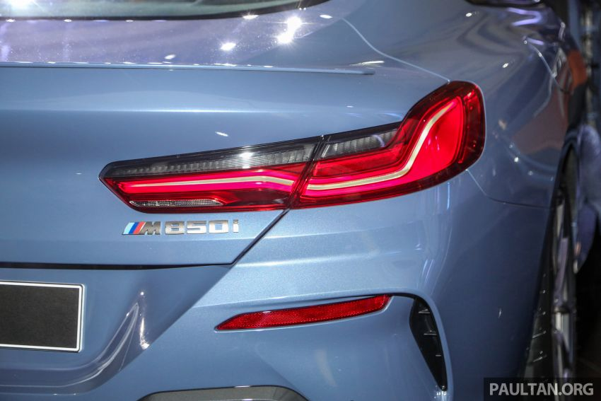 G15 BMW 8 Series launched in Malaysia – sole M850i xDrive variant; 530 PS 4.4L twin-turbo V8; RM1,088,800 Image #933595
