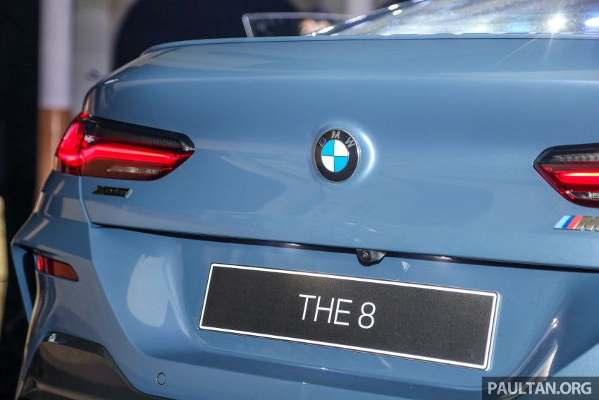 G15 BMW 8 Series launched in Malaysia – sole M850i xDrive variant; 530 PS 4.4L twin-turbo V8; RM1,088,800 Image #933598