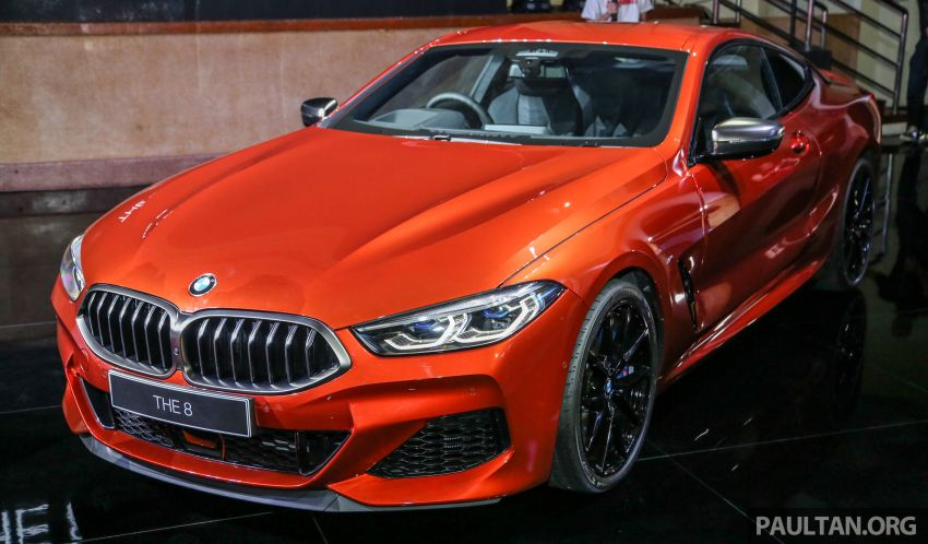 G15 BMW 8 Series launched in Malaysia – sole M850i xDrive variant; 530 PS 4.4L twin-turbo V8; RM1,088,800 Image #933603
