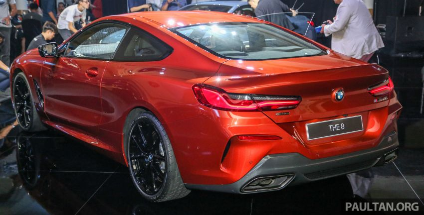 G15 BMW 8 Series launched in Malaysia – sole M850i xDrive variant; 530 PS 4.4L twin-turbo V8; RM1,088,800 Image #933604