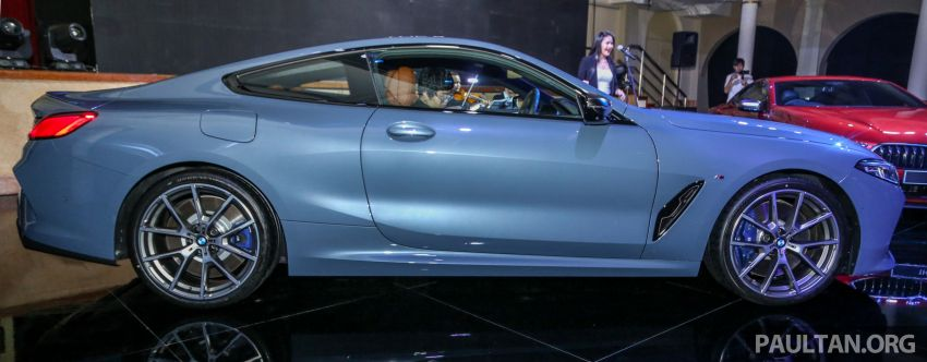 G15 BMW 8 Series launched in Malaysia – sole M850i xDrive variant; 530 PS 4.4L twin-turbo V8; RM1,088,800 Image #933578