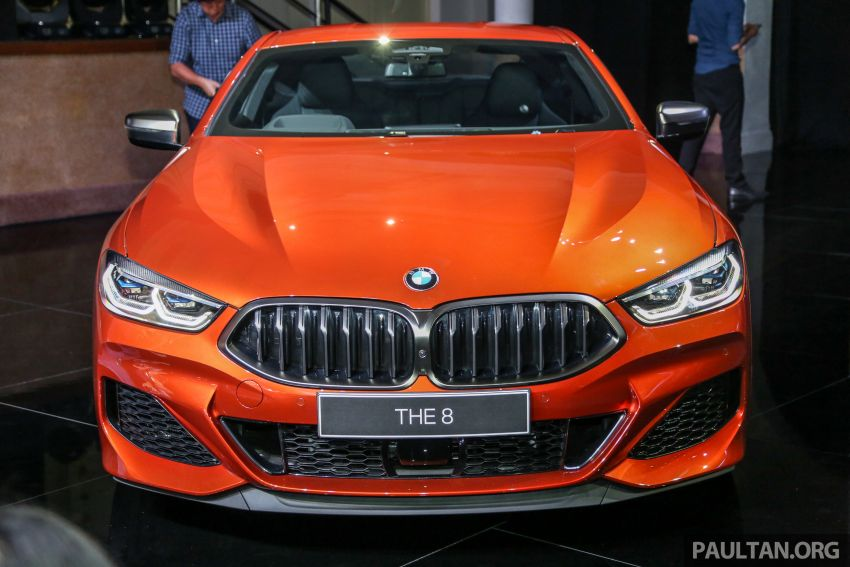 G15 BMW 8 Series launched in Malaysia – sole M850i xDrive variant; 530 PS 4.4L twin-turbo V8; RM1,088,800 Image #933605
